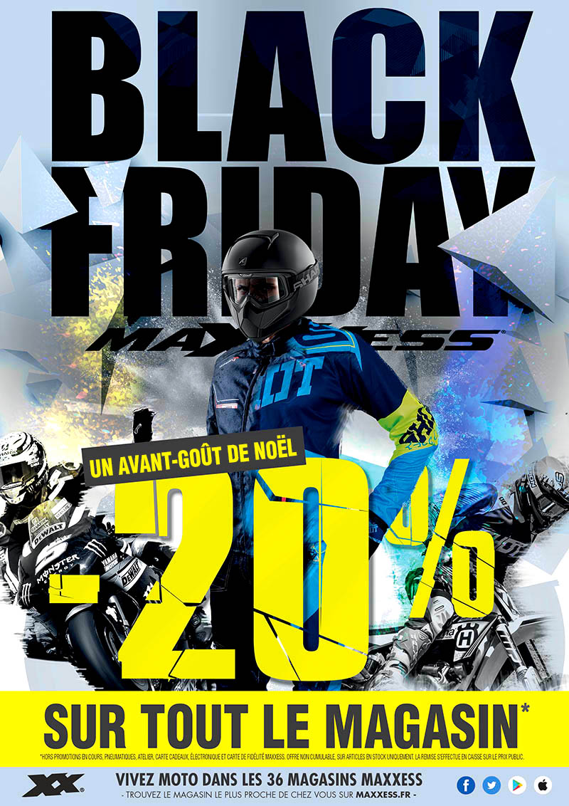 BLACK FRIDAY chez MAXXESS ! -20% sur tout le magasin(2) !