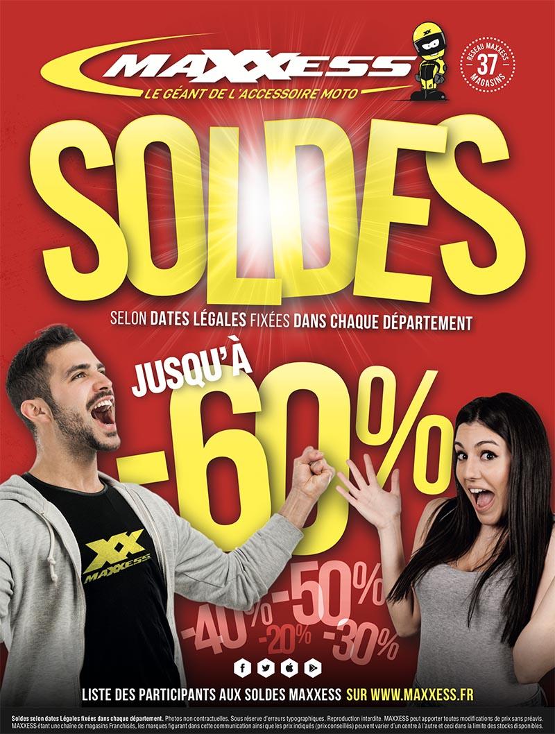 SOLDES MAXXESS jusqu'à -60%
