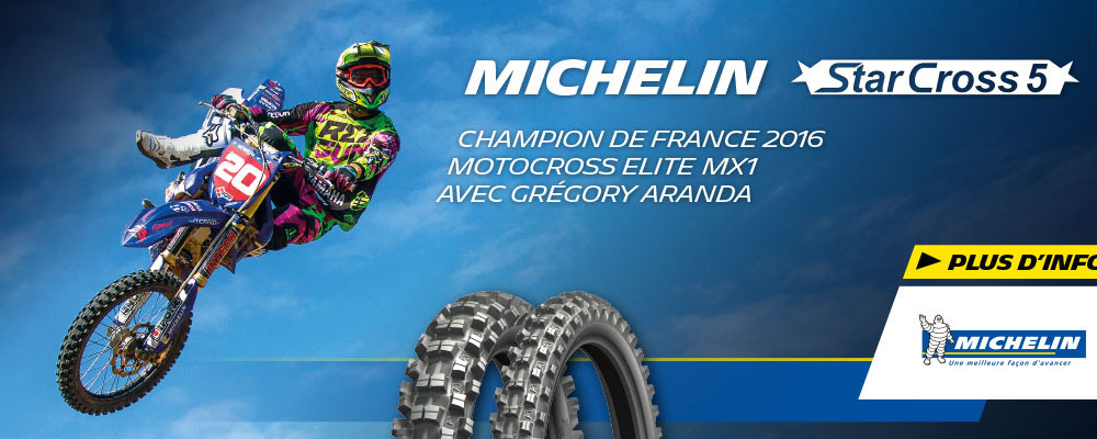 Nouveau MICHELIN StarCross 5 Soft, Medium Et Hard !