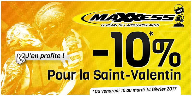 -10% Pour La Saint Valentin ❤ Chez MAXXESS NANCY !