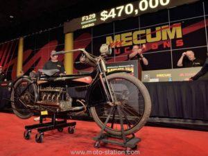506 395 € pour une Henderson Four de 1912
