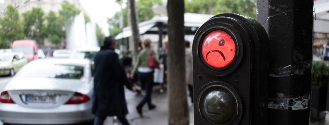 Les Feux Tricolores En Voie D'extinction En France ?