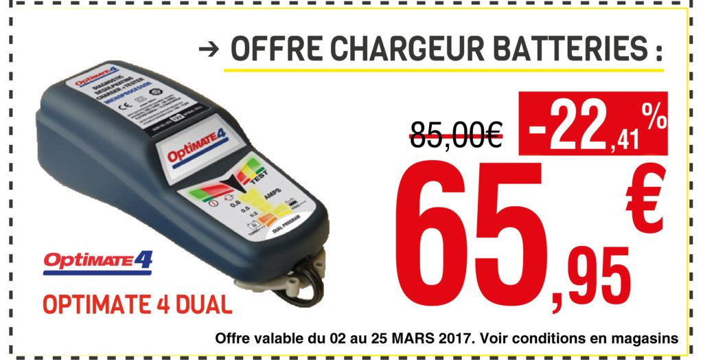 Offre Chargeur Batteries