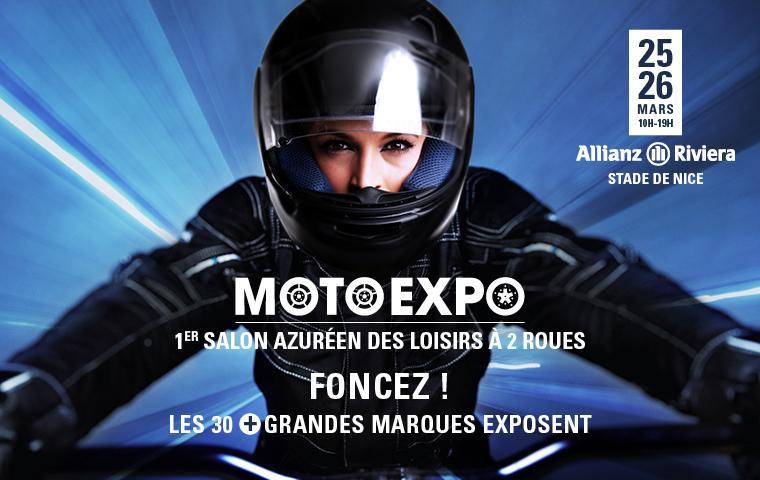 MotoExpo, 1er Salon Moto De Nice Le 25 Et 26 Mars 2017