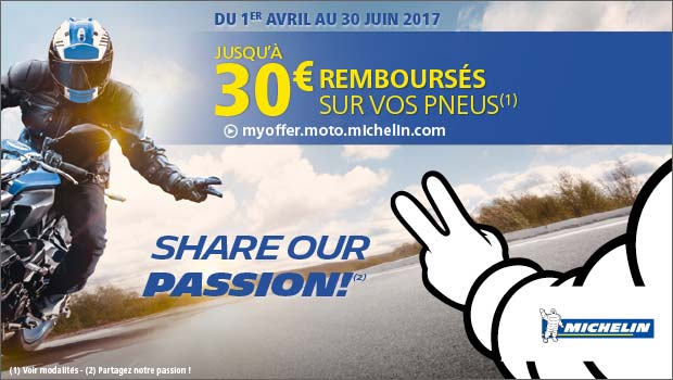 Share Our Passion Avec MAXXESS Et MICHELIN !