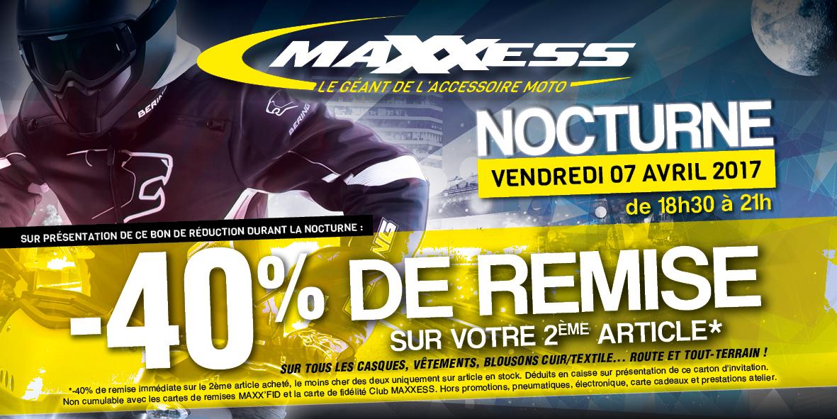 Invitation à La Nocturne MAXXESS* Ce Vendredi !