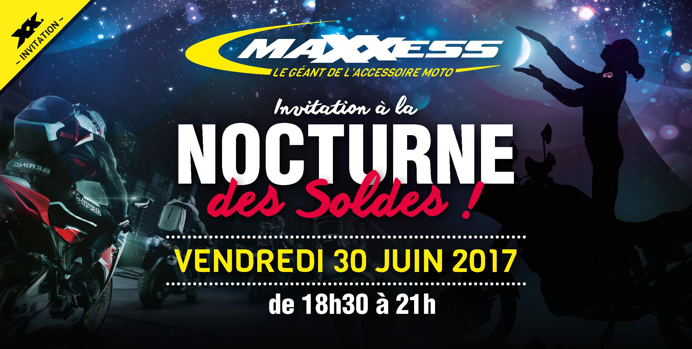 Invitation NOCTURNE Spéciale SOLDES D'été 2017 !