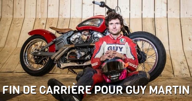 Fin De Carrière Pour Guy MARTIN