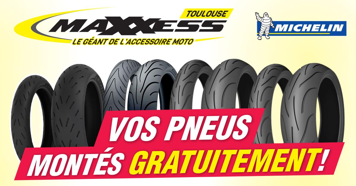 Vos Pneus Michelin* Montés Gratuitement à Toulouse