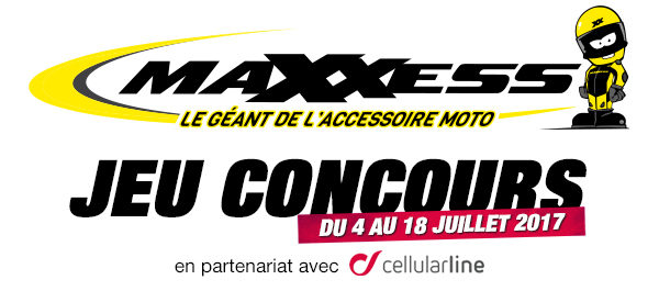 Jeu Concours MAXXESS & Cellularline
