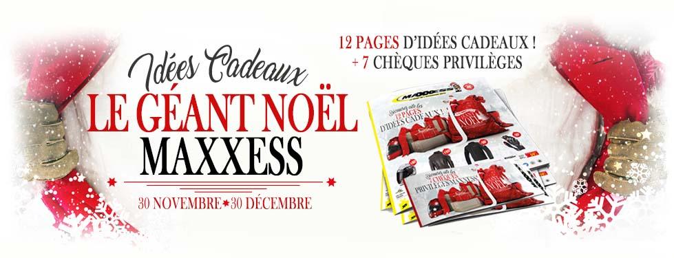 Le Géant Noël MAXXESS