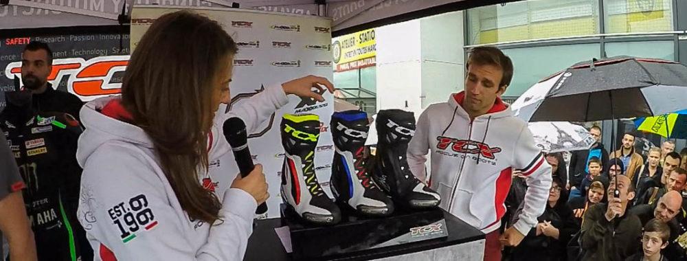 TCX Présentera Sa Nouvelle Botte Racing Avec Johann ZARCO à MAXXESS Dardilly