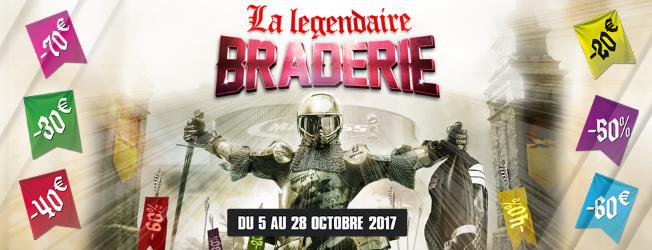 Top Départ Pour «LA LÉGENDAIRE BRADERIE» MAXXESS Du 5 Au 28 Octobre 2018 !