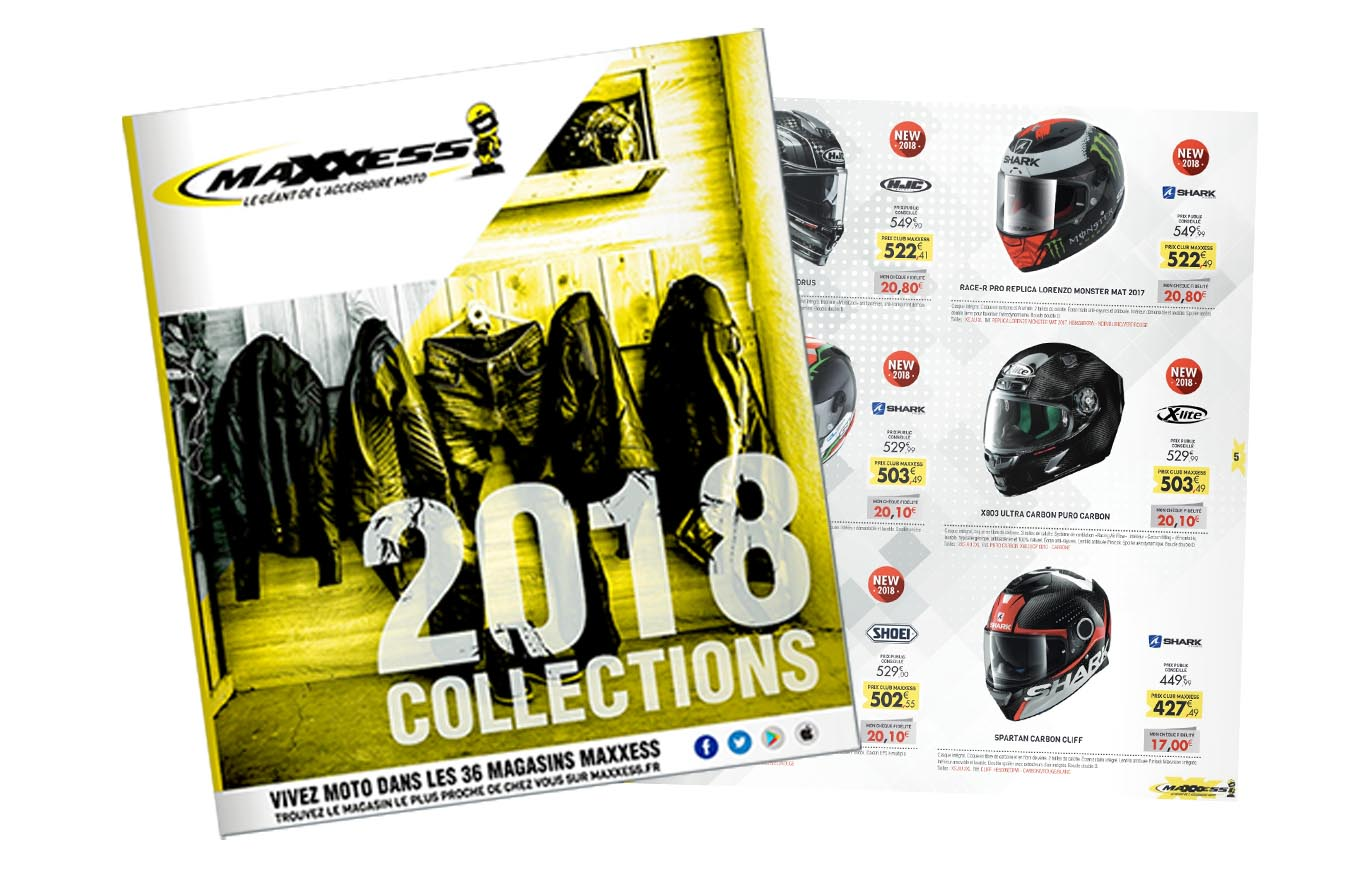 Nouveau Catalogue MAXXESS