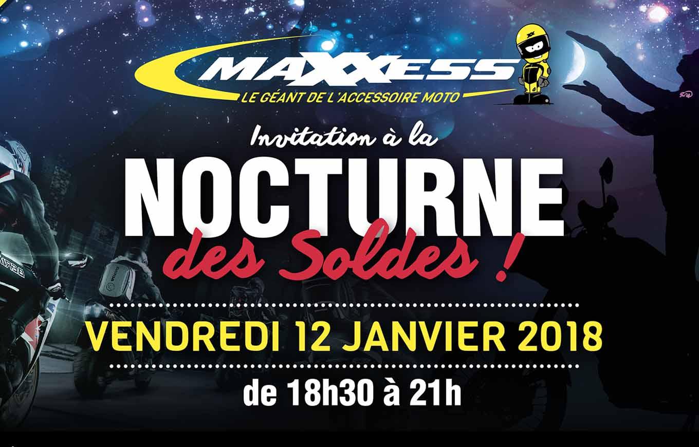 Invitation à La NOCTURNE Des SOLDES MAXXESS