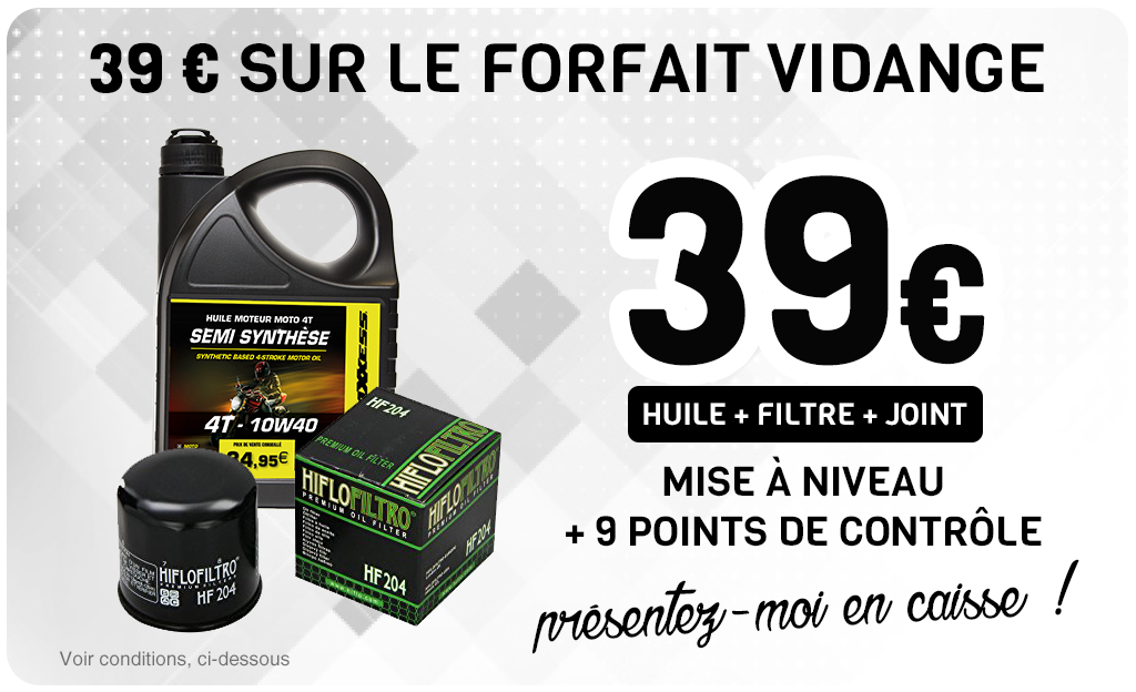 39 € Sur Le FORFAIT VIDANGE