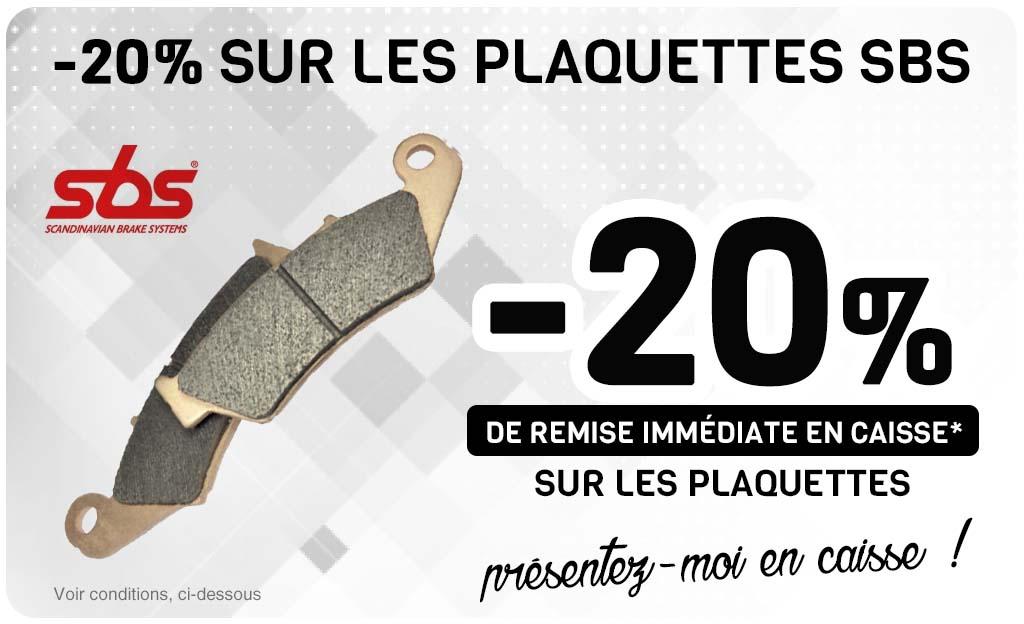 -20% Sur Les Plaquettes SBS