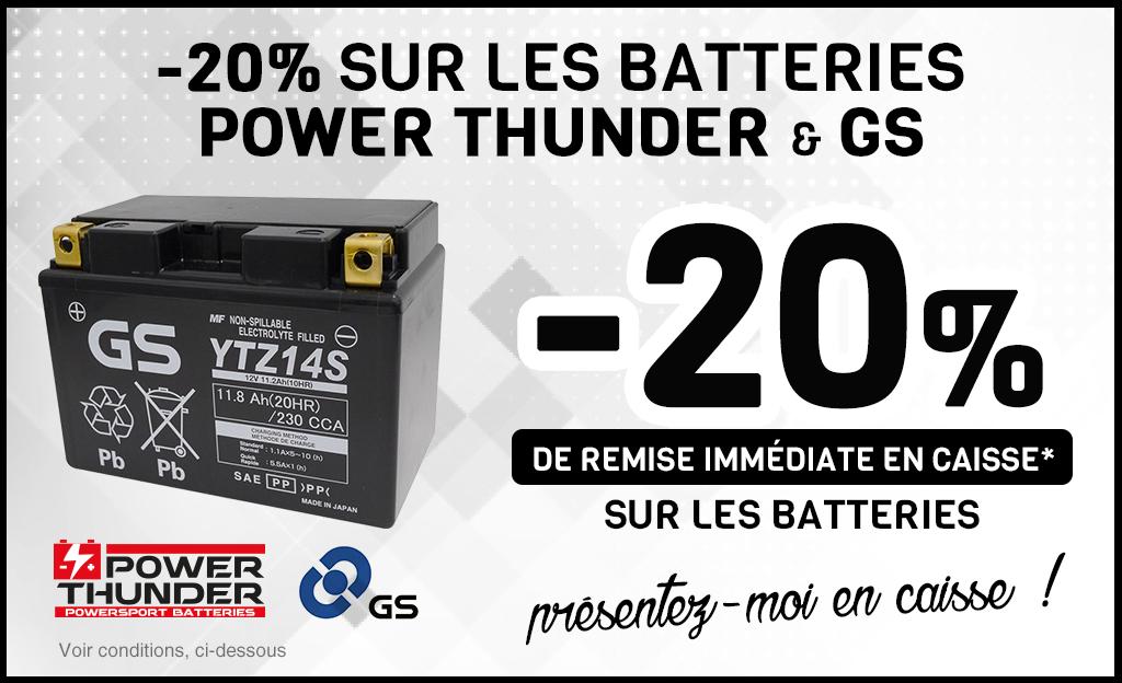 -20% Sur Les Batteries