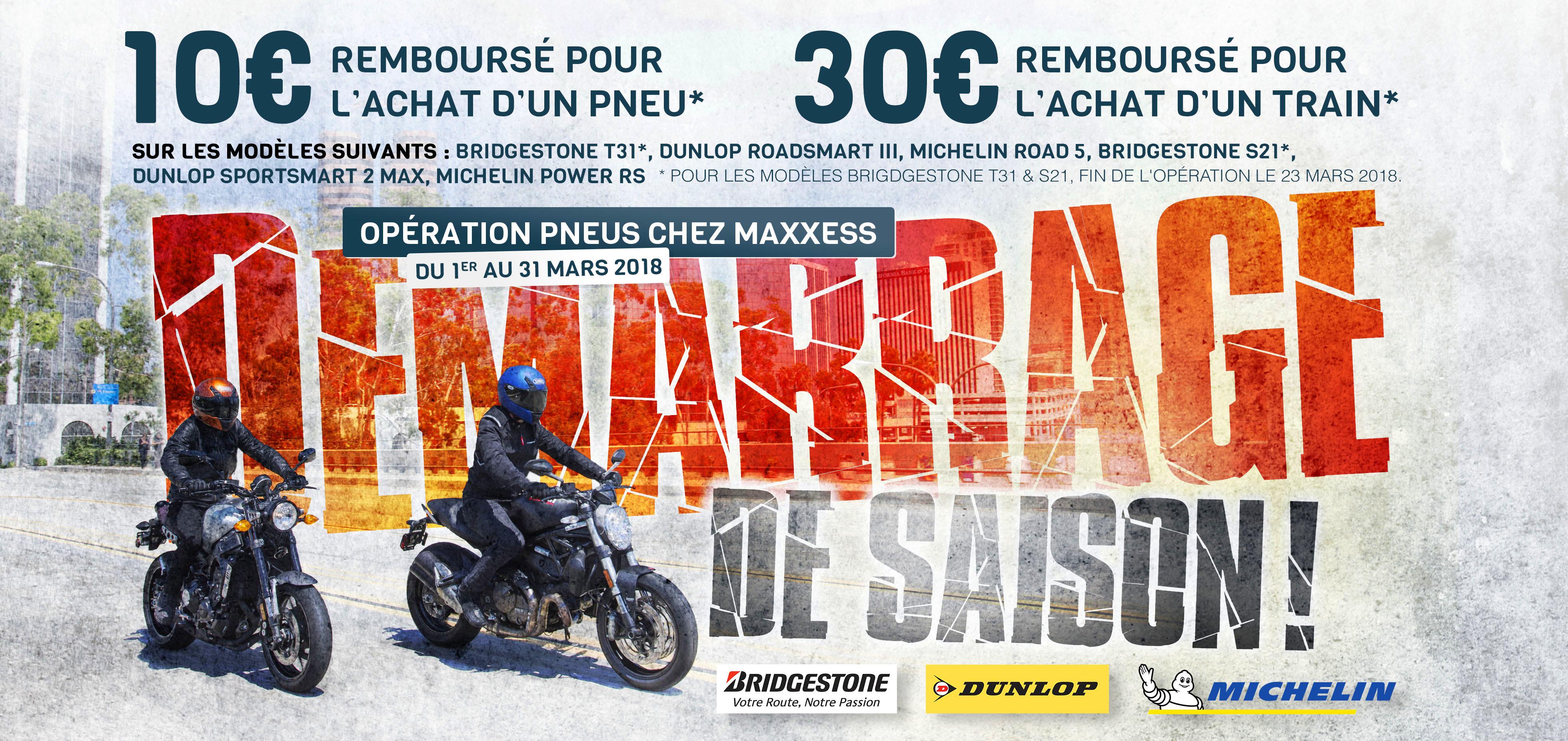 Opération Pneus Et Atelier Chez MAXXESS