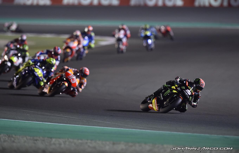 GP Du Qatar – Zarco (8ème) : «Je Voulais Mener La Course»