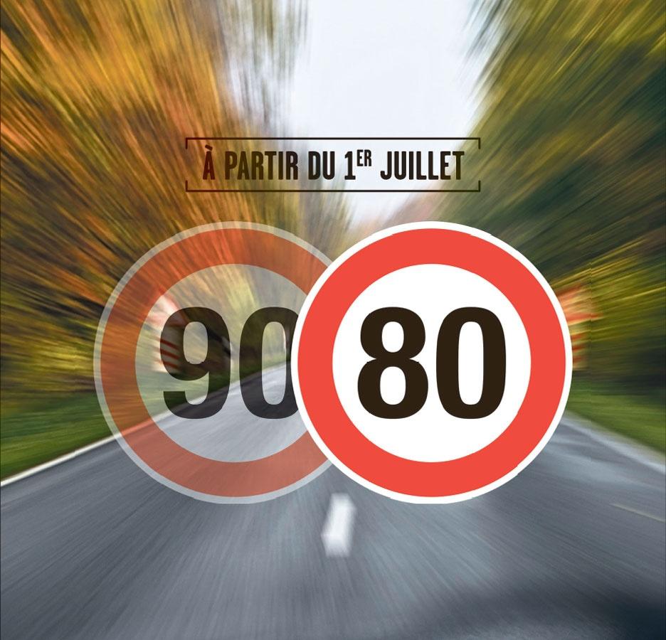 Un Rapport En Faveur Des 80 Km/h