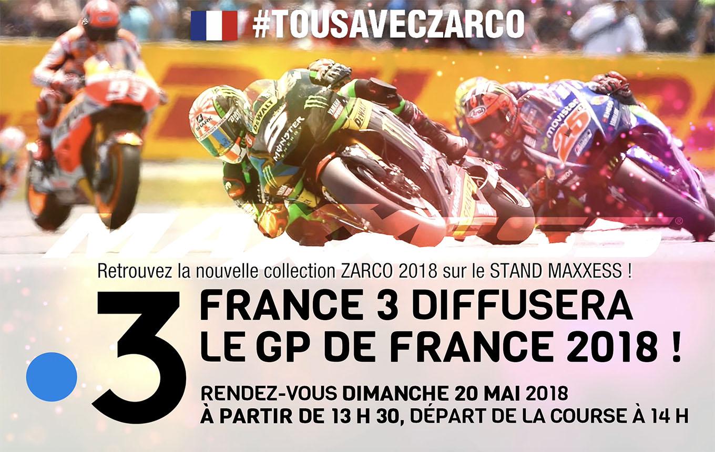 France 3 Diffusera Le MotoGP De France 2018