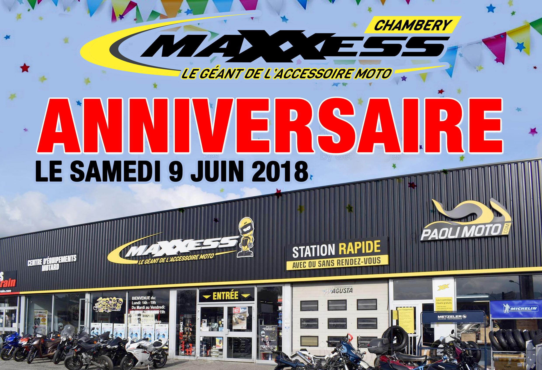 Anniversaire MAXXESS Chambéry