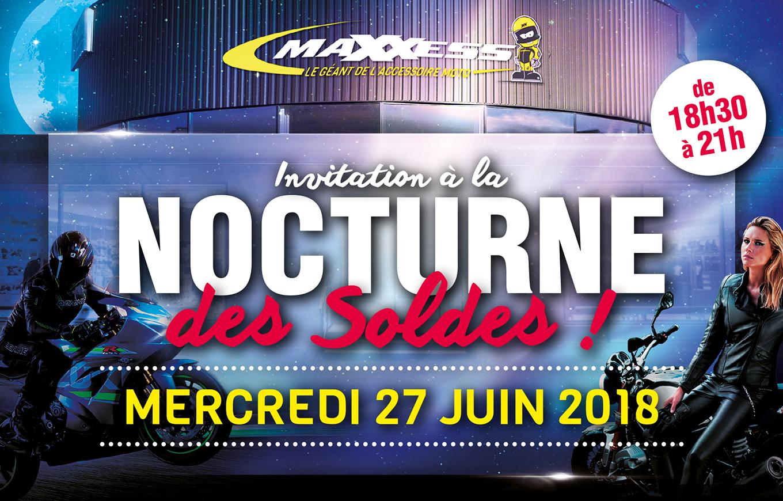 Invitation à La NOCTURNE Des SOLDES MAXXESS Rouen