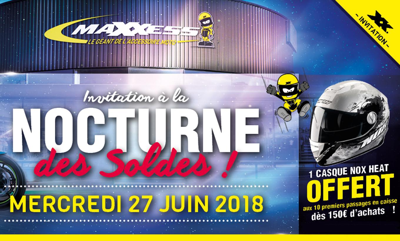Invitation à La NOCTURNE Des SOLDES MAXXESS Dardilly