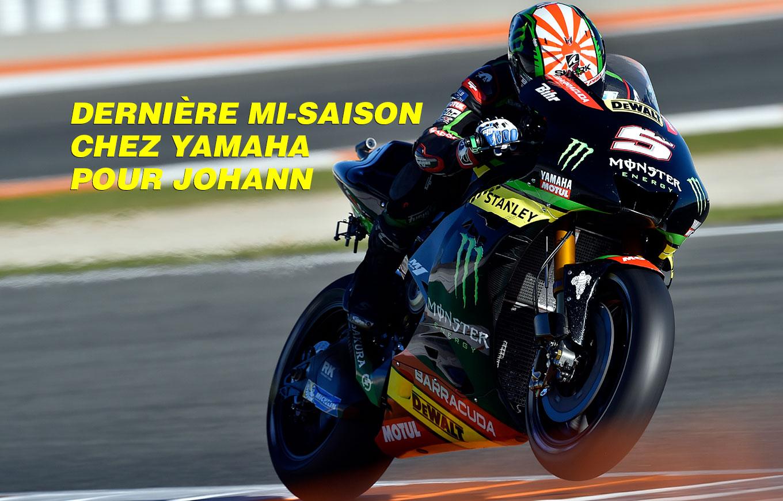 Dernière Mi Saison Chez Yamaha Pour Johann Zarco