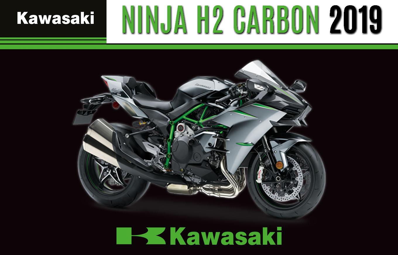 Nouveauté 2019 : Kawasaki Dévoile Sa Nouvelle Ninja H2 / Carbon