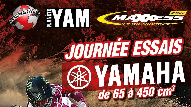 Rendez-vous à La Journée D'essais YAMAHA  !