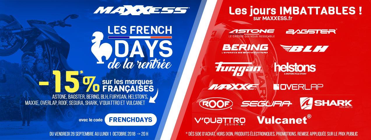 C'est Les FRENCH DAYS Chez MAXXESS