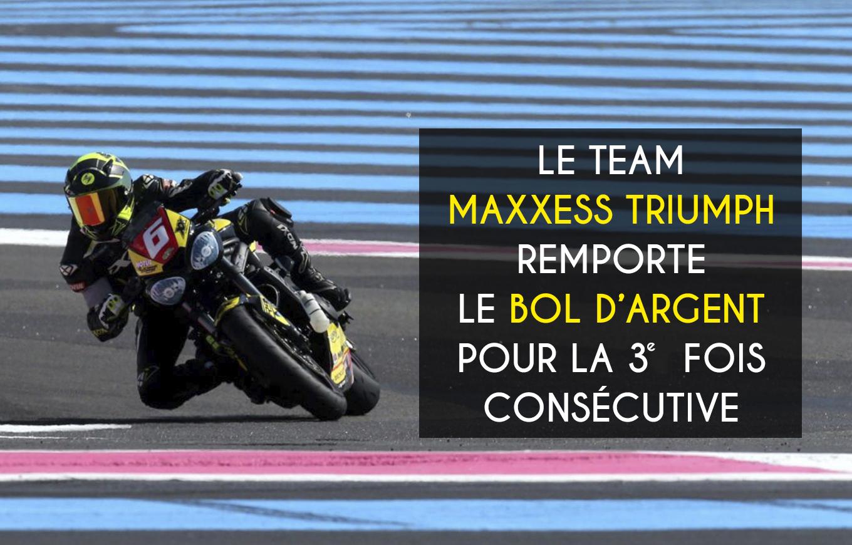 Maxxess Triumph Gagne Le Bol D'argent Pour La 3e Fois