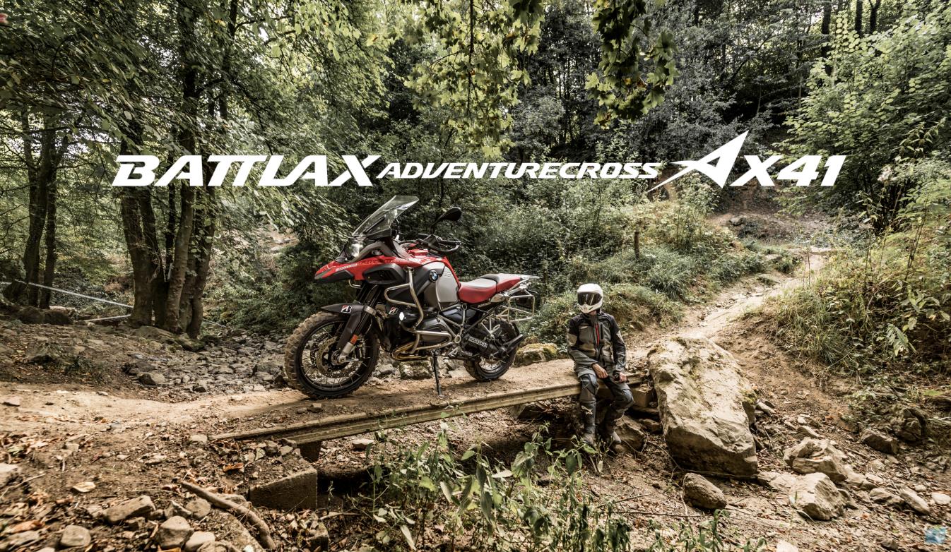Jusqu'au Bout Du Monde Avec Le Battlax Adventurecross AX41 !