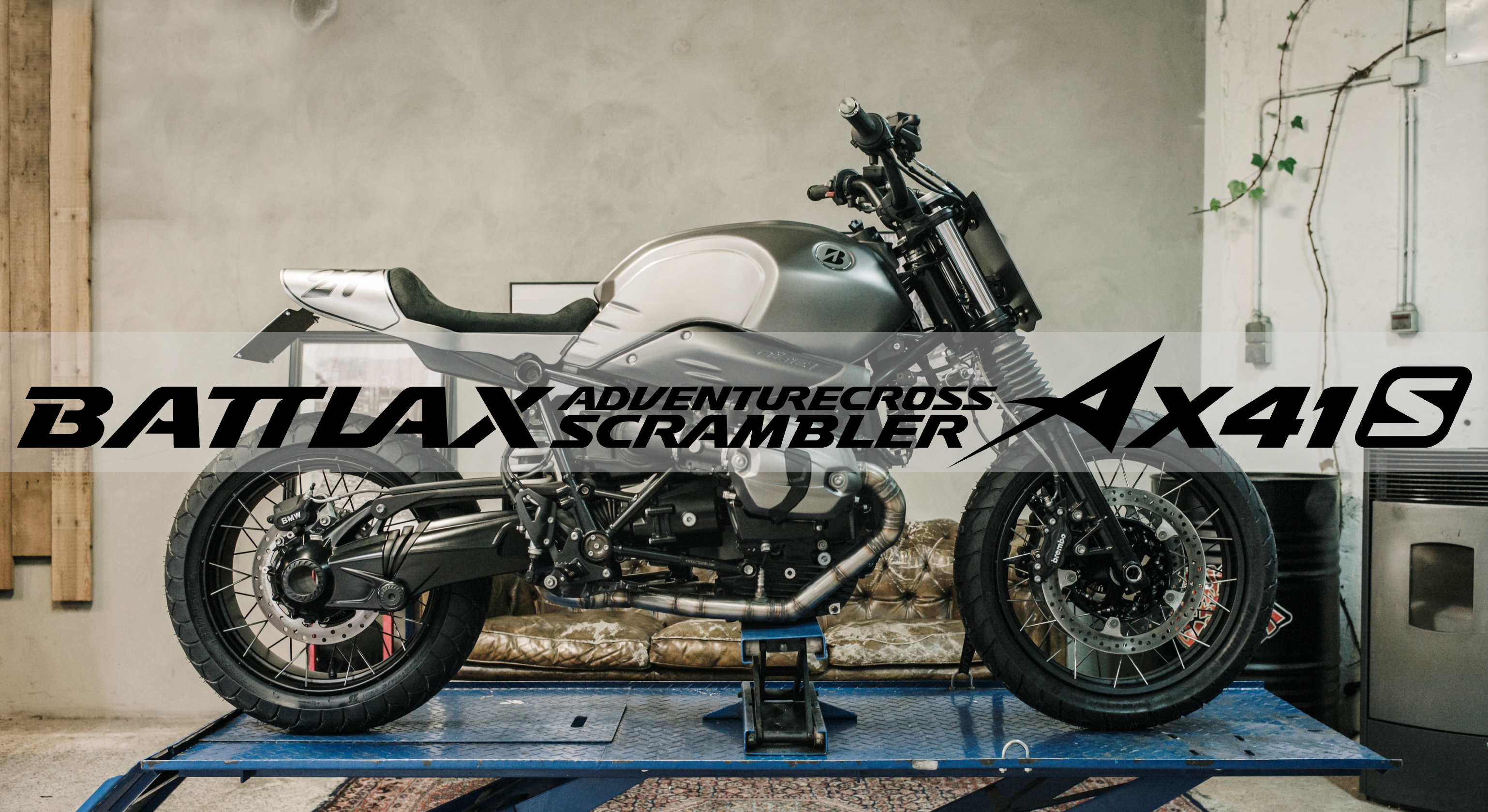 Le Battlax Adventurecross Scrambler AX41S