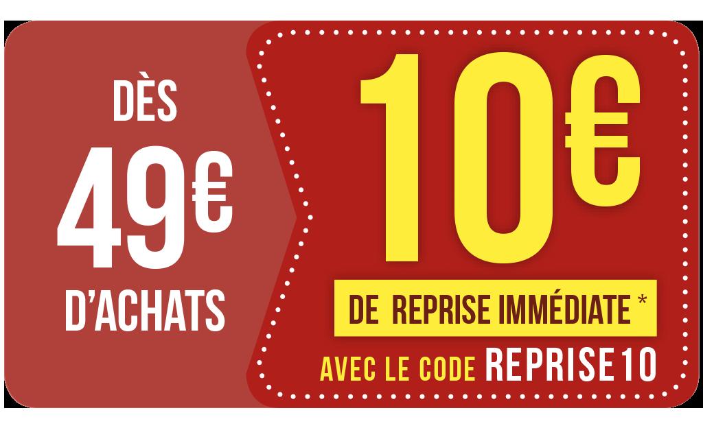 Reprise IMMÉDIATE 🔥avec Le Code REPRISE10
