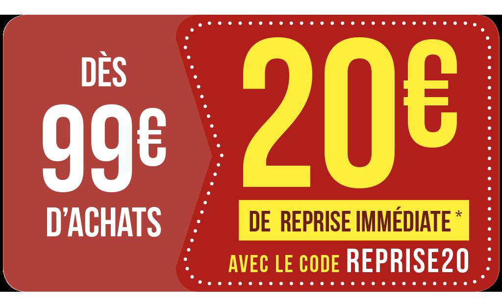 Reprise IMMÉDIATE 🔥avec Le Code REPRISE20
