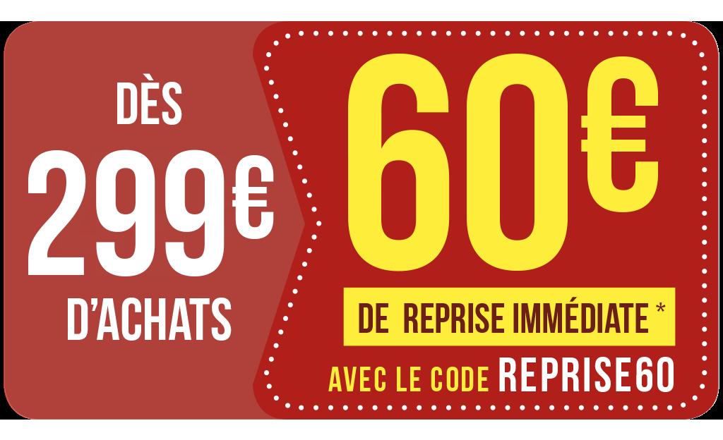 Reprise IMMÉDIATE 🔥avec Le Code REPRISE60
