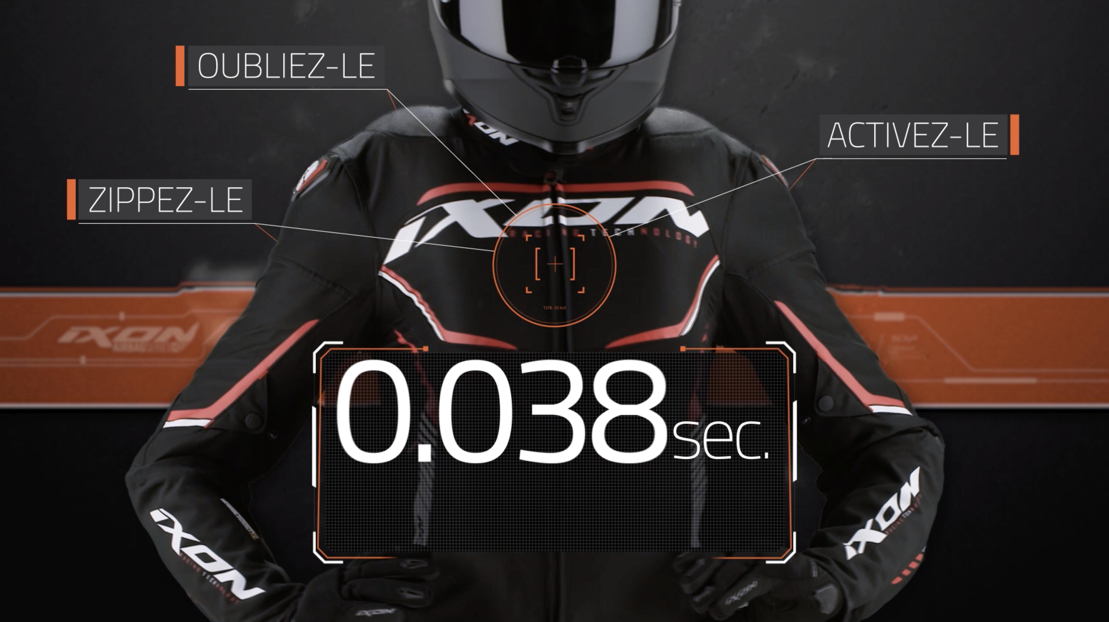 L'airbag Moto Sans Fil Ixon Et In&Motion Disponible Chez MAXXESS ANNECY !