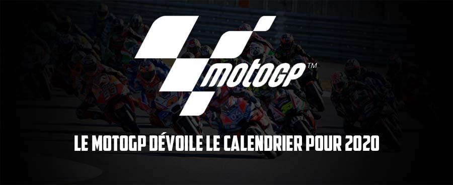 Calendrier Du Championnat Du Monde FIM MOTOGP 2020