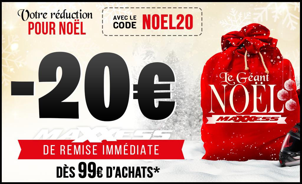 Remise IMMÉDIATE 🔥avec Le Code NOEL20