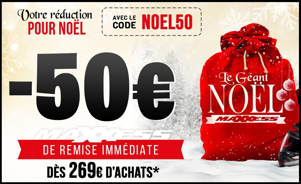 Remise IMMÉDIATE 🔥avec Le Code NOEL50