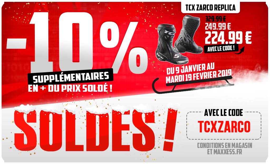 -10 % Supplémentairessur Les Bottes TCX ZARCO Réplica !