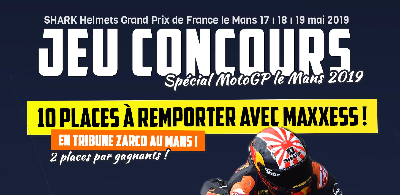 Gagnez Vos Places Pour Le GP DE FRANCE Au Mans