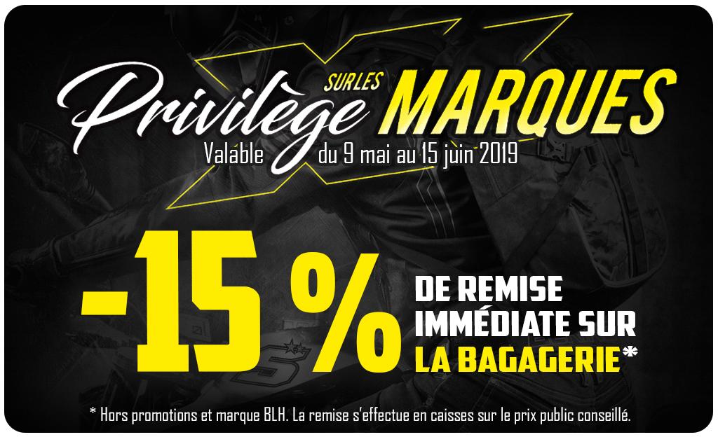 -15 % Sur La BAGAGERIE*