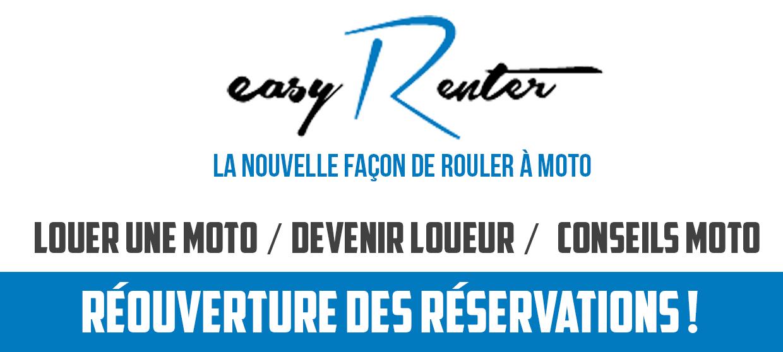 Réouverture Des Réservations EASY RENTER