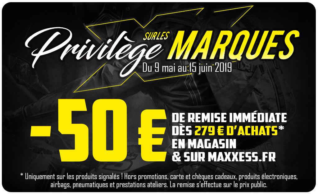 Privilèges Sur Les Marques 50EUROS