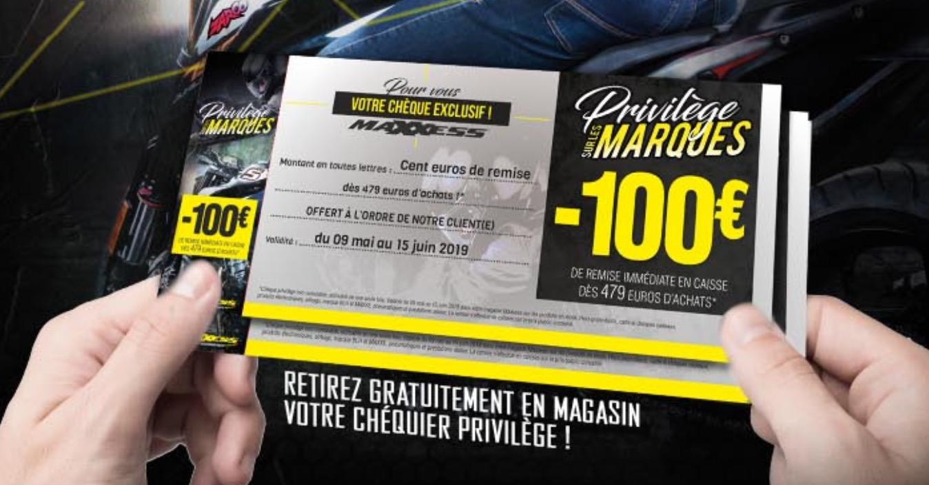 Chez MAXXESS NANCY, 8 Chèques De Remises Et 4 ODR Pneumatiques !