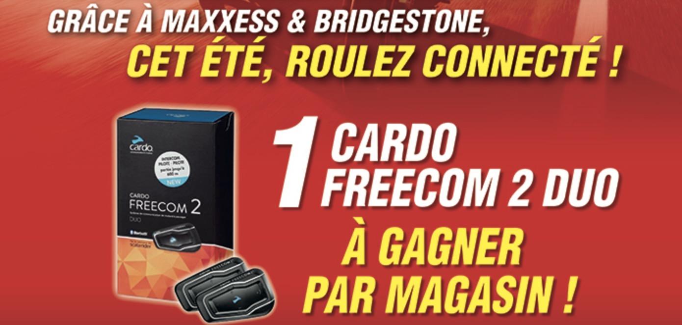Cet été Grâce à MAXXESS & BRIDGESTONE, Roulez Connecté !